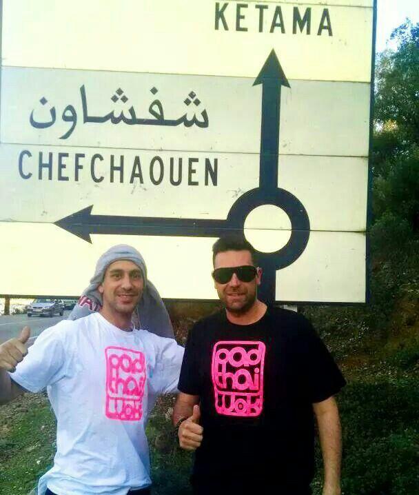 El #espíritu #PadthaiWok está en todos sitios. ¡También en Marruecos! ¿Adonde irán a Chefchaouen o a Ketama?