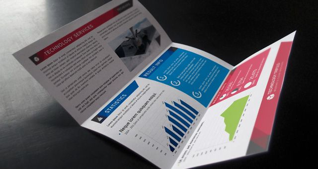 Technology tri fold brochure free download design tools for Brochure design tools