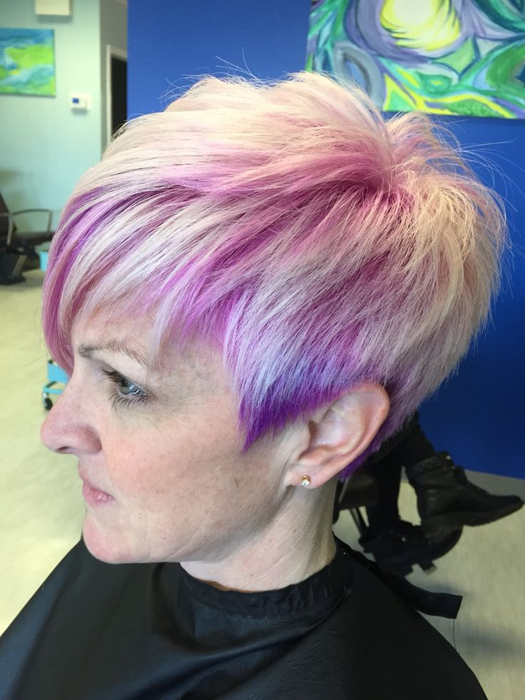 Pink And Purple Underlaid Color Color Done Right