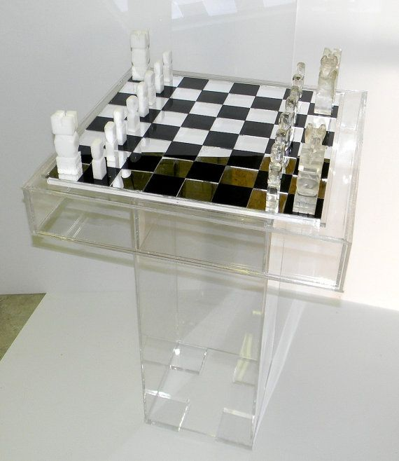 Lucite / Acrylic Gaming Table   Cake Table   Bridal Table   Utility Table.  Removable