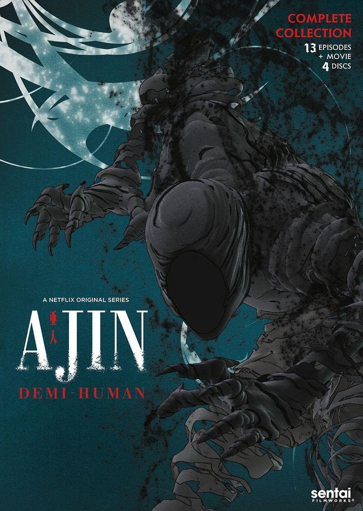 New on DVD and Bluray May 16, 2017 Demi human, Ajin