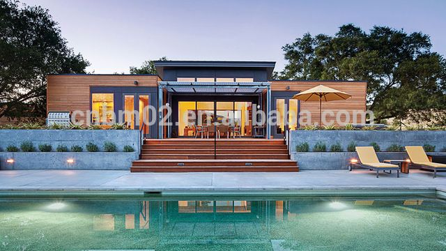 Source Low cost Prefabricated houses prices for sale of light steel prefab villa price on m.alibaba.com
