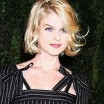 Alice Eve is an English actress. Her birth name is Alice Sophia Eve and she was born on February 6, 1982 in London, United Kingdom. She is the daughter of actors Trevor Eve and Sharon Maughan.