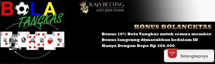 rajabetting.com menyadari antusiasme masyarakat Indonesia dan para bettors yang amat tinggi, Namun sulitnya membuat akun di SBOBET menyulitkan para bettors untuk bermain.