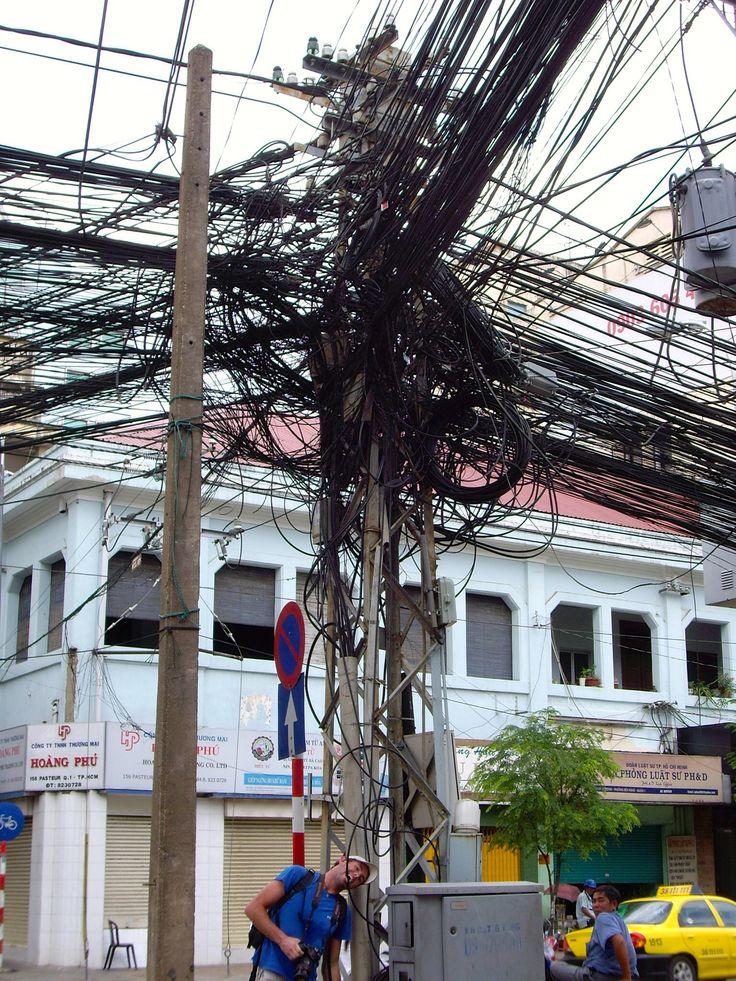 Cableado típico de Vietnam.