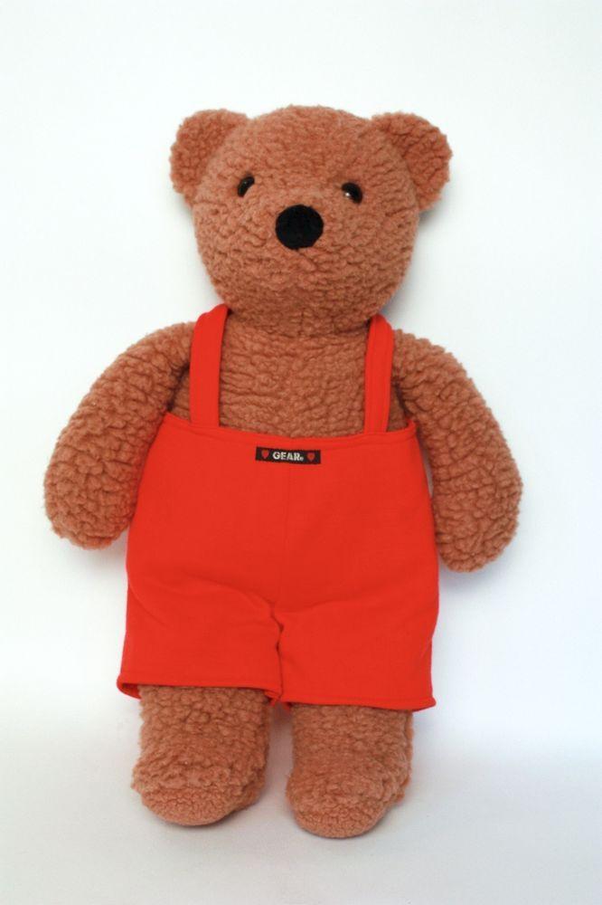 gund baby gear bear plush teddy bear stuffed rattle toy. Black Bedroom Furniture Sets. Home Design Ideas