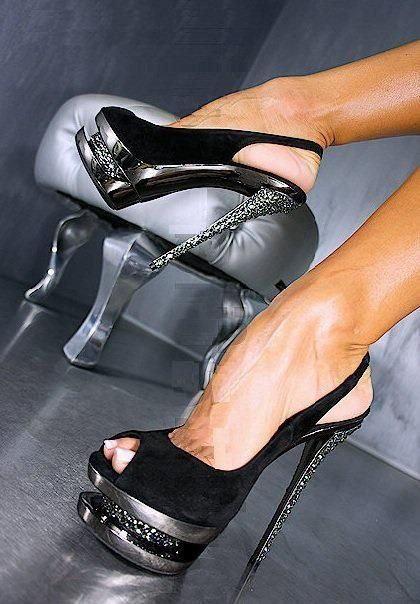 "Gianmarco Lorenzi...ohhhh weeee! These are ""come and get it"" shoes for sure! I wouldn't mind getting got! LOL..."