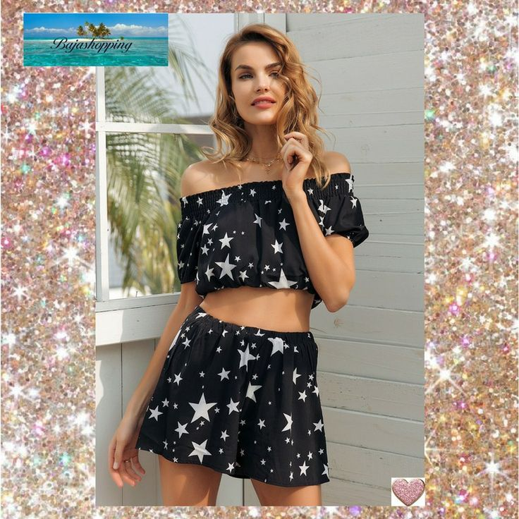 Black Romper Shorts with Stars~Summer Romper Sale *Save 60%