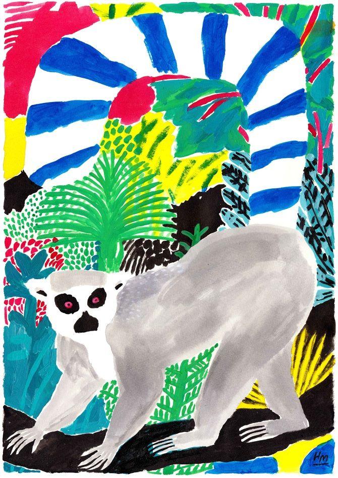 Lemurs - Holly Mills