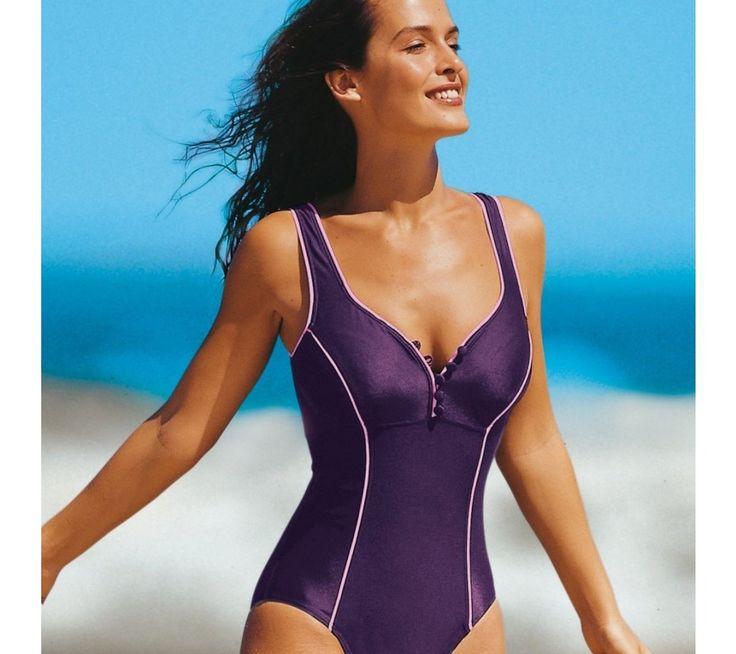 Jednodílné plavky se zapínáním na knoflíčky | vyprodej-slevy.cz #vyprodejslevy #vyprodejslecycz #vyprodejslevy_cz #swimsuit