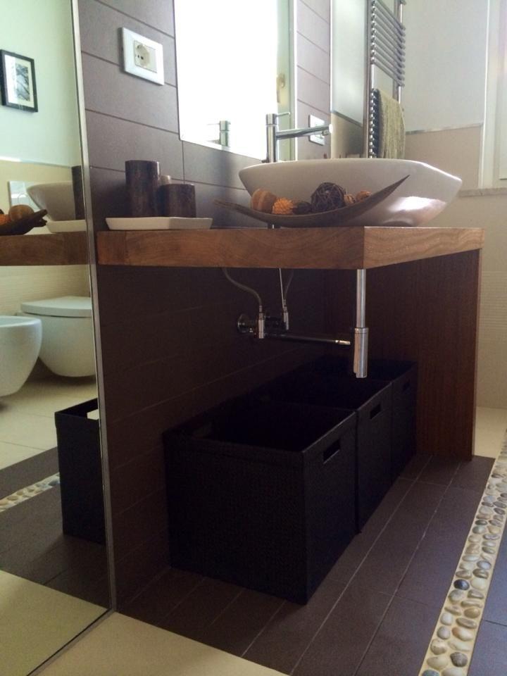 Mobile bagno Natural Age Zen  Forniture by Alberto Ceppi Falegname - Mobili di Alberto Ceppi ...