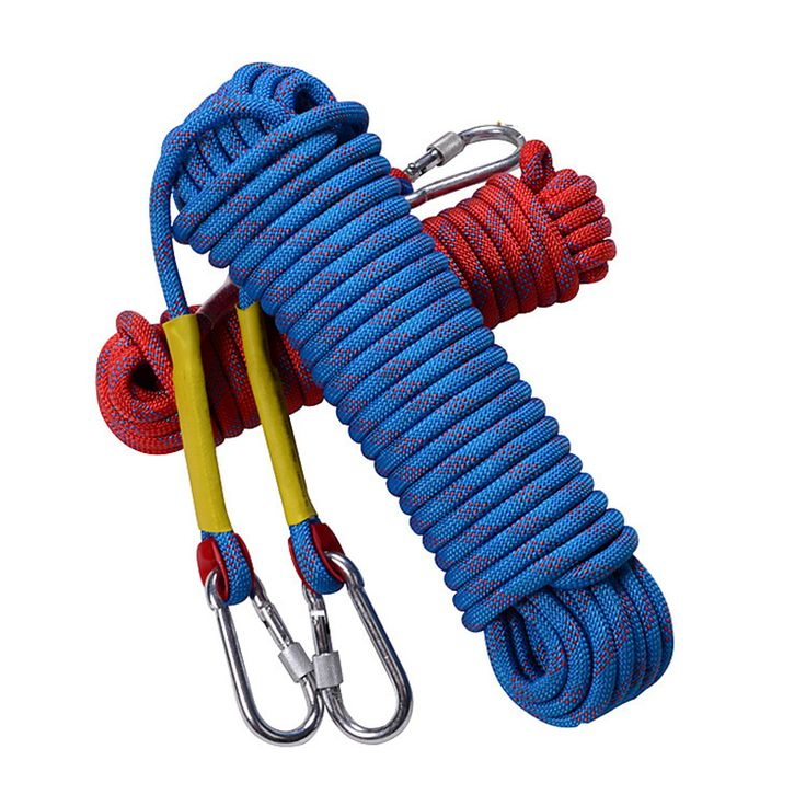 Check Price 10M Professional Outdoor Rock Climbing Rope