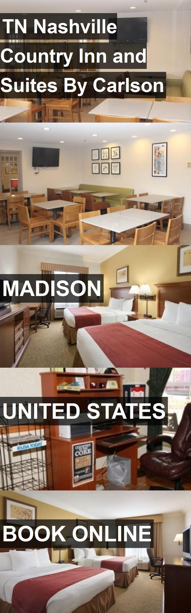 Hotel TN Nashville Country Inn and Suites By Carlson in Madison, United States. For more information, photos, reviews and best prices please follow the link. #UnitedStates #Madison #travel #vacation #hotel