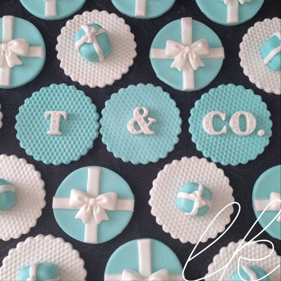 NEW Tiffany  Co Blue Gift Box Bow by SweetThingTopperShop on Etsy, $25.00