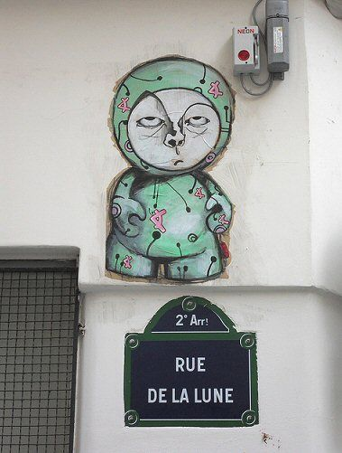rue de la Lune - Paris 2e