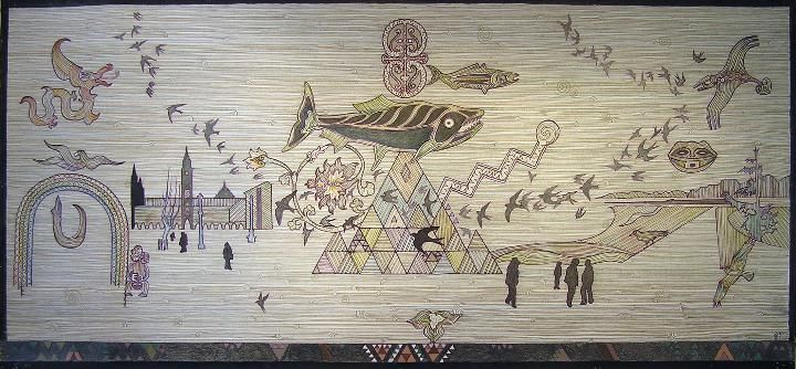 Taniko Border 4 by John Bevan Ford