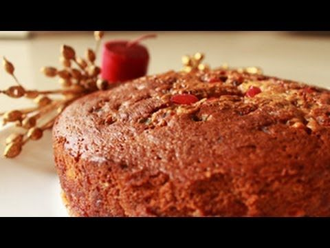Christmas Recipe -- Plum Cake   A fruity and nutty cake with the goodness of dried cherries, almonds, raisins and many more dried fruits. Great as a dessert with a dollop of ice cream or works prefect with your evening tea too. A super-delicious cake, which is a great way of using plums when in-season. So try this wonderful recipe and comment is the section below