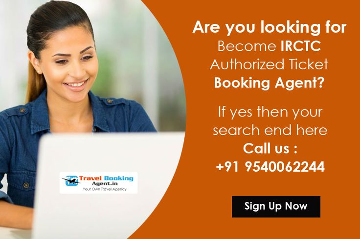 Are you looking for Become IRCTC Authorized Ticket Booking Agent? if yes then your search end here Call us +91 +91 9540062244 & start your travel business. Know more visit : http://www.travelbookingagent.in/