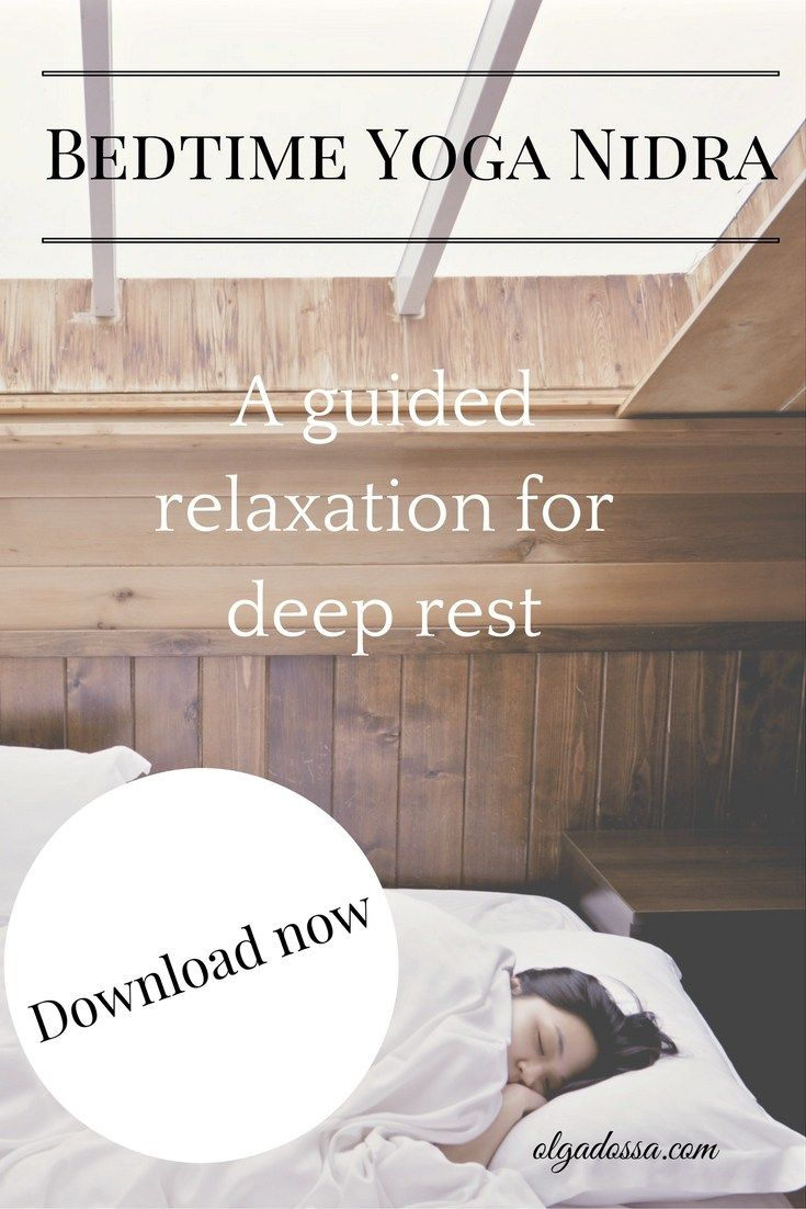 Did you know that 20 minutes of Yoga Nidra (or yogic sleep, also known as a deep relaxation), equates to 3 hours of uninterrupted sleep?  I designed this deep relaxation to be listened to in bed to help you drift off into a peaceful sleep. I have found that when I use this before bed, I sleep deeper and more peacefully.