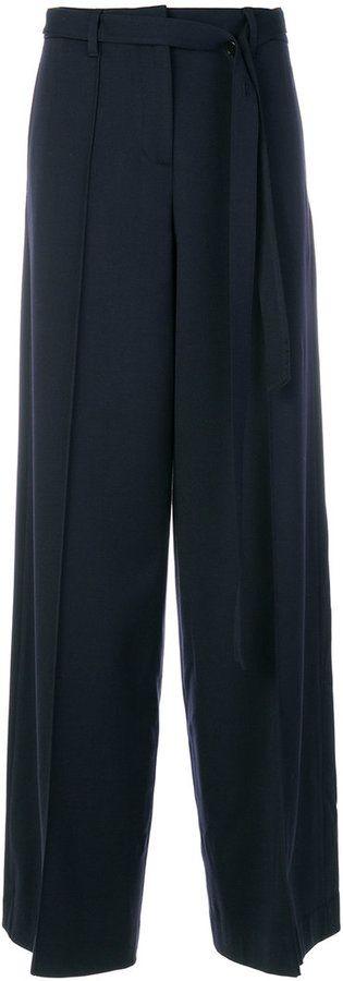 Juun.J wide leg trousers