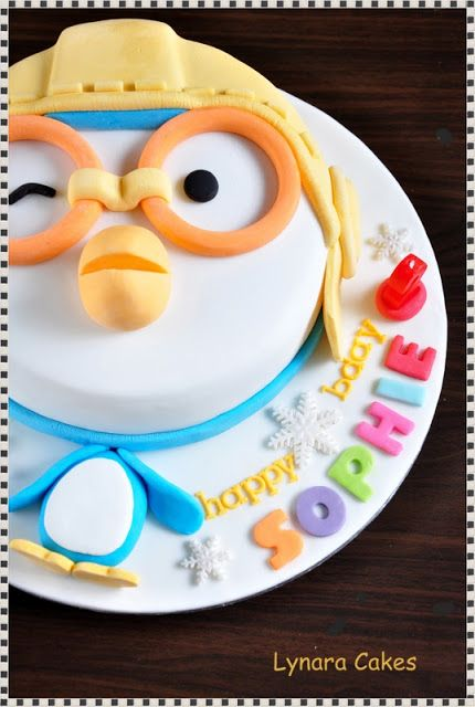 Lynara Cakes: Pororo Head Cake