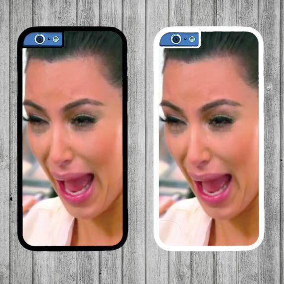 Kim Kardashian Crying Phone Case  iPhone 4/4s 5C by FreshAFstudios