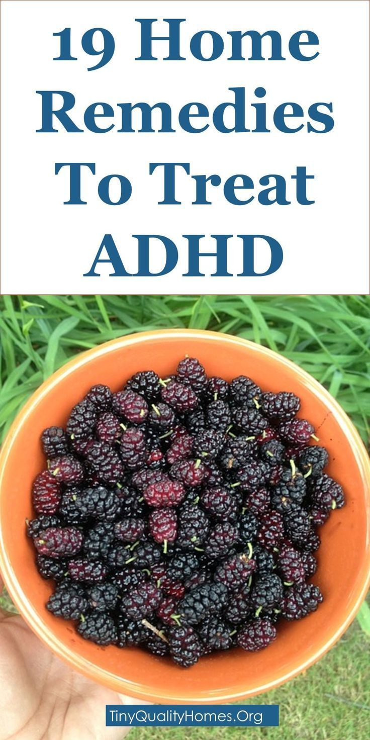 How To Treat ADHD Naturally 19 Home Remedies