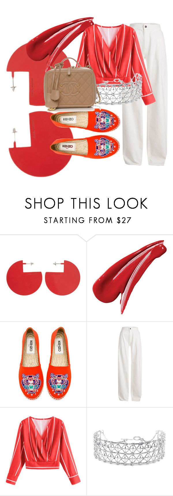 """""""Geen titel #26"""" by fashionableweekend ❤ liked on Polyvore featuring Isabel Marant, Kenzo, Maison Margiela and Co.Ro"""