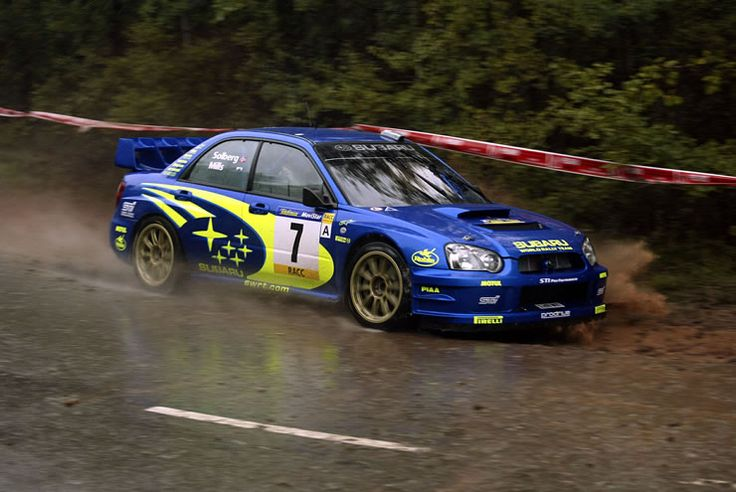 2003 - Petter Solberg (Subaru Impreza WRC)