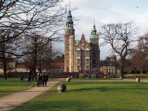 Rosenborg Slot in Copenhagen