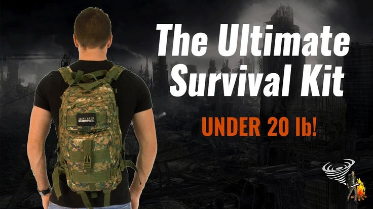 Urban 72 hr survival kit weighing in at 20 lb! Modular system that has everything you need to survive an urban disaster. Checklist included. Perfect for urban city dwellers looking for a lightweight kit that does it all.