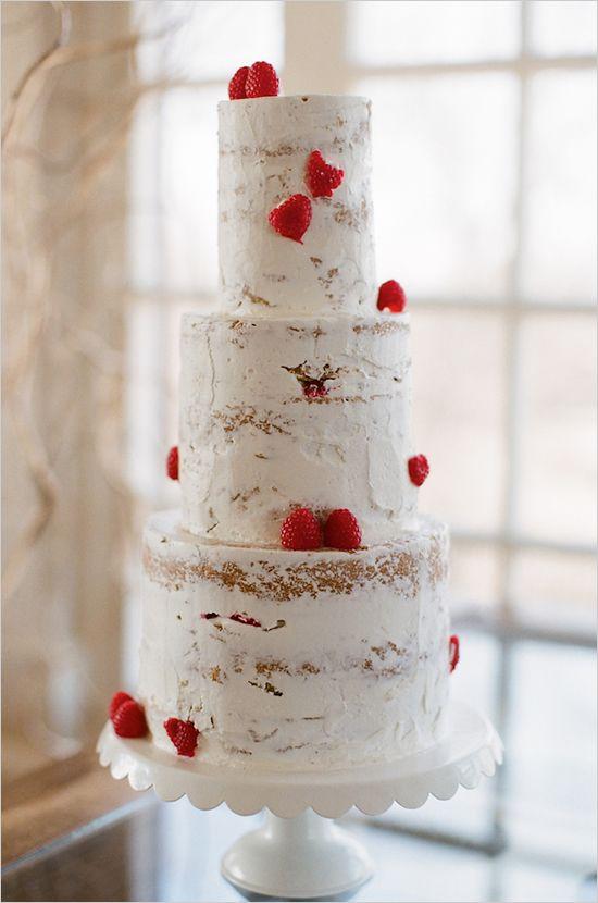 "My ""unfrosted cake"". Looks a lot like tree bark."