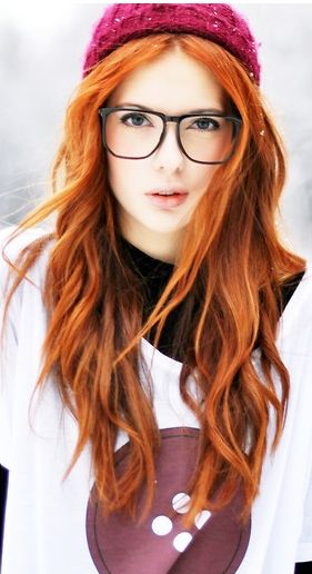 #Ebbazingmark med flot rødt hår #redhair #hairstyle #fashion #trend #beauty