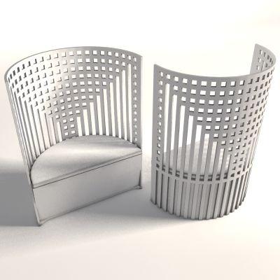 Charles Rennie Mackintosh - Willow Chair