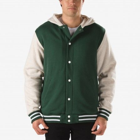 Vans Pine/Bone White Heather University II Sherpa Hoodie