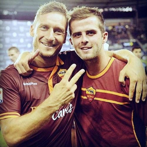 """Totti: """"Pjanic? He is little prince, our little prince. I have soft spot for him."""""""