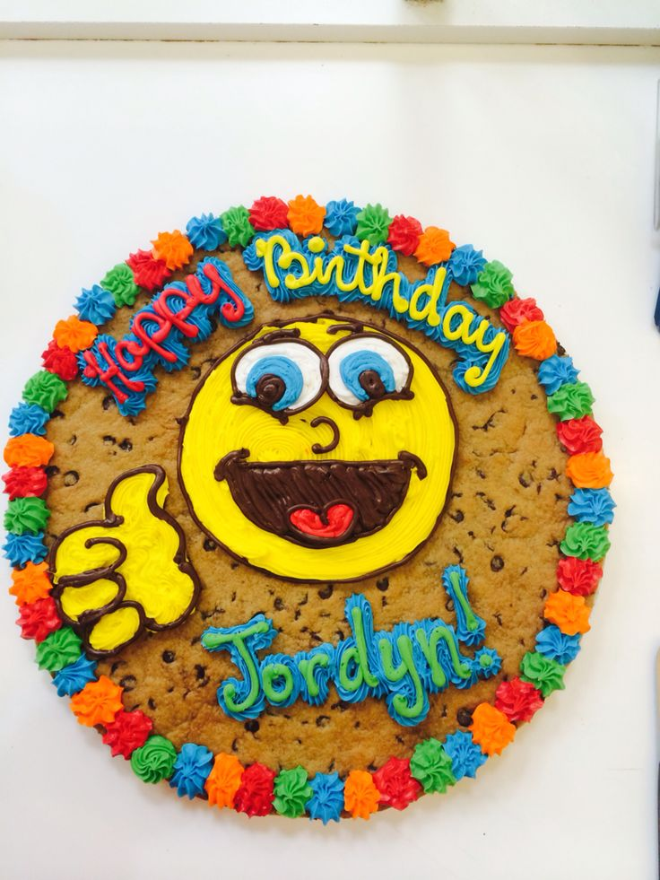 1000+ images about Cookie cakes on Pinterest Cookie ...