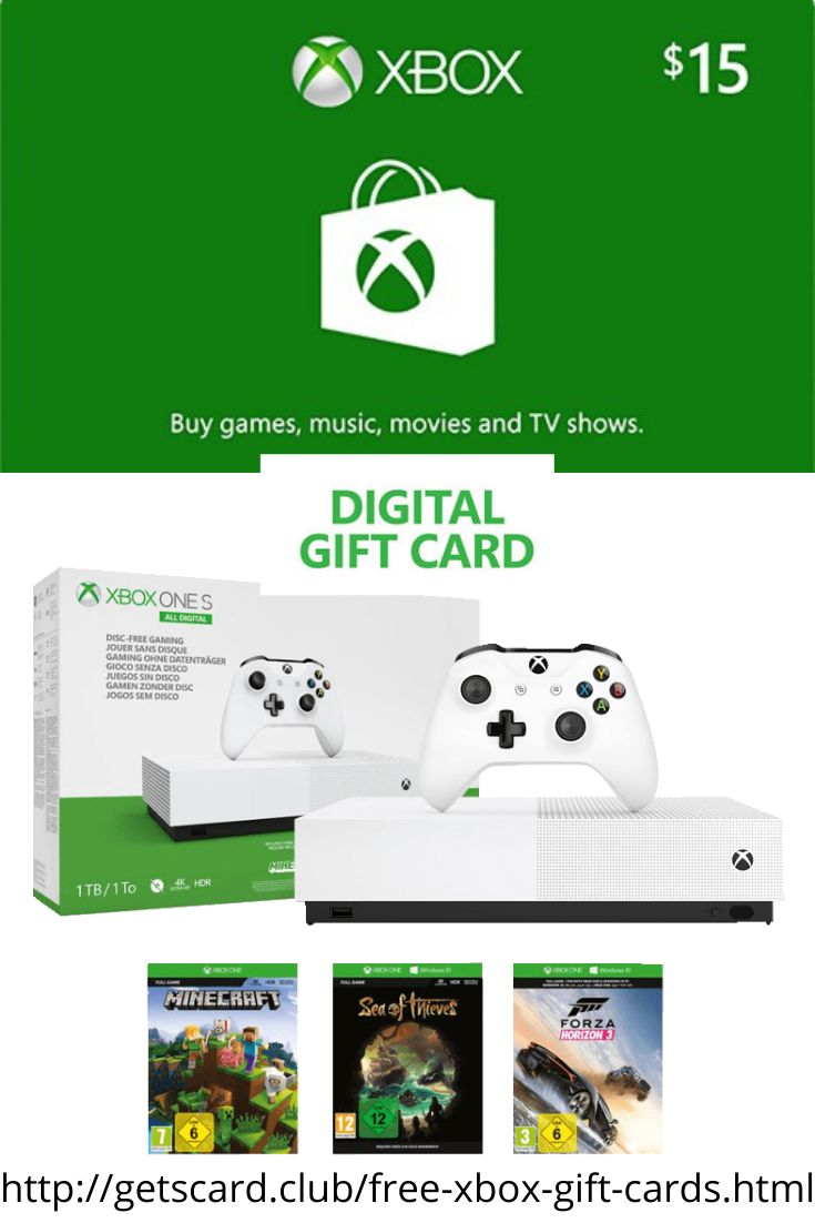 Free 15 xbox one gift cards in 2020 xbox gift card