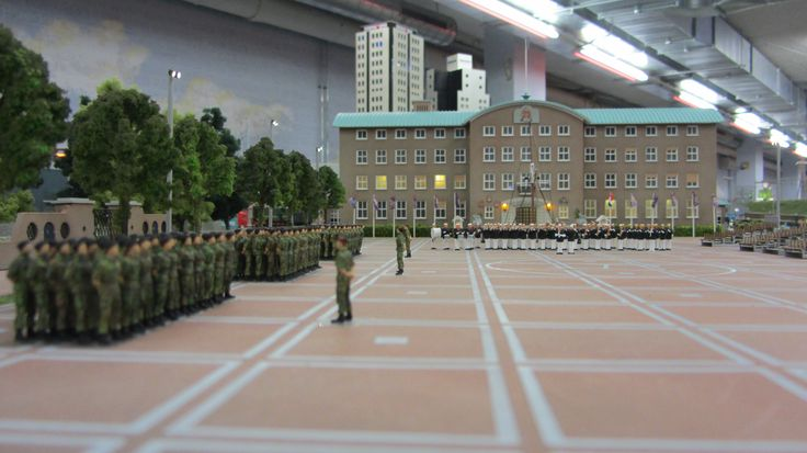 kazerne korps mariniers geef acht http://www.miniworldrotterdam.com/