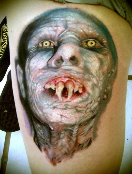 http://tattoomagz.com/scary-tattoos/nosferatu-scary-tattoo/