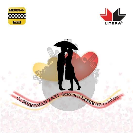 """De Valentine's Day, cuplurile de îndrăgostiți care vor călători cu taxiurile companiei MERIDIAN vor primi cadou o carte de dragoste de la Editura Litera. Evenimentul face parte din campania """"Cu MERIDIAN TAXI descoperi LITERAtura iubirii"""""""