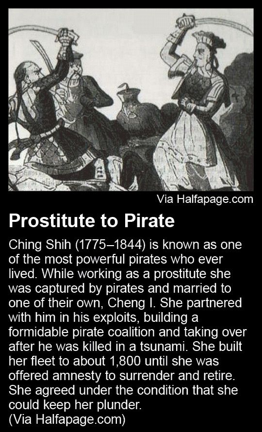 Prostitute to Pirate - Ching Shih