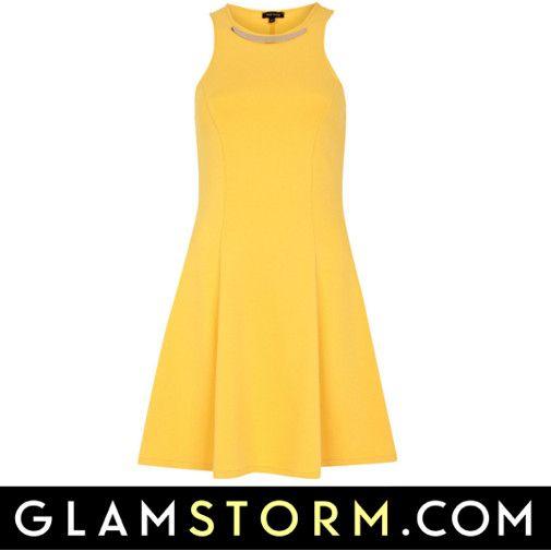 Wybrałyście już sukienkę na gorący weekend?  Nasza propozycja to zwiewna sukienka w kolorze słońca.   /You already have a dress on a hot weekend? Our proposal is dress in the color sun.  http://glamstorm.com/pl/ubrania/detale/id/5615 http://glamstorm.com/en/clothes/details/id/5615