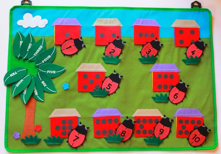 Beetle Numbers Horizontal Play Pads  Teach a variety of math skills with this interactive play pad. Concepts such as counting, number and word recognition and organization skills are at your fingertips. {pacifickid.net/}