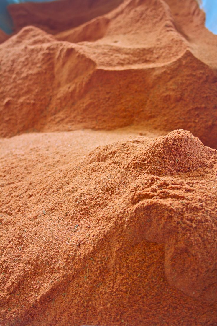 Mounds of paprika