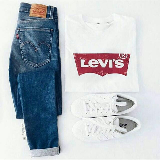 5c2fb282ba5633 Levis outfit | Levi in 2019 | Outfits, Fashion outfits, Denim outfit