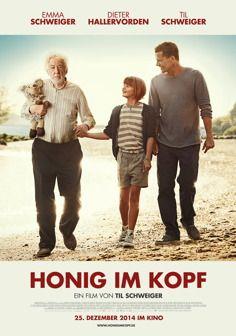 Honig im Kopf-Bewegender Film um ein Mädchen, das ihren an Alzheimer erkrankten Opa (Dieter Hallervorden) auf eine Reise nach Venedig entführt. Von und mit Til Schweiger.