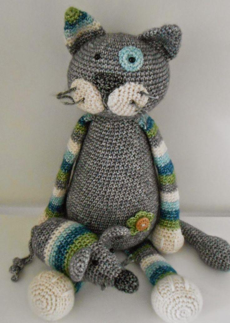 Bizzy Bee Klaske: Miauw.... Teo and Mouse