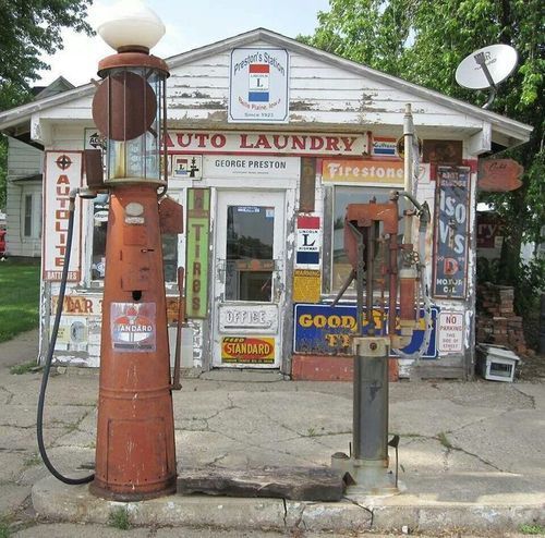 old gas stations | Tumblr