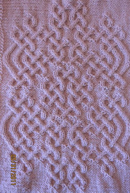Ravelry: Celtic Motif (knot #159) pattern by Devorgilla's Knitting (sometimes...)